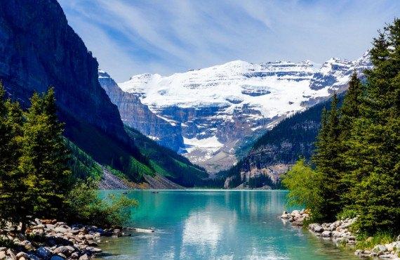 Lac Louise en Alberta