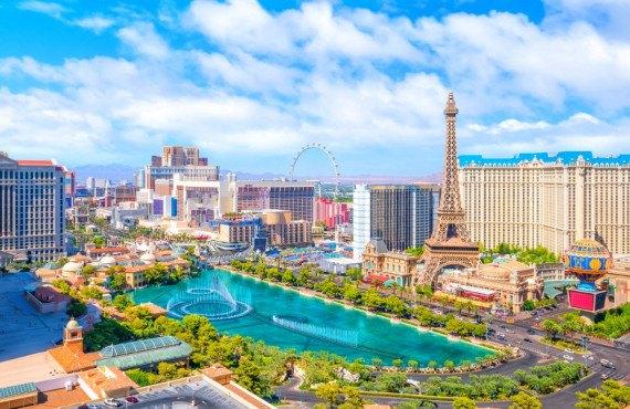 voyage en moto à Las Vegas