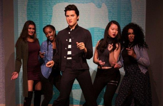Elvis Presleu au muse de Madame Tussauds Hollywood