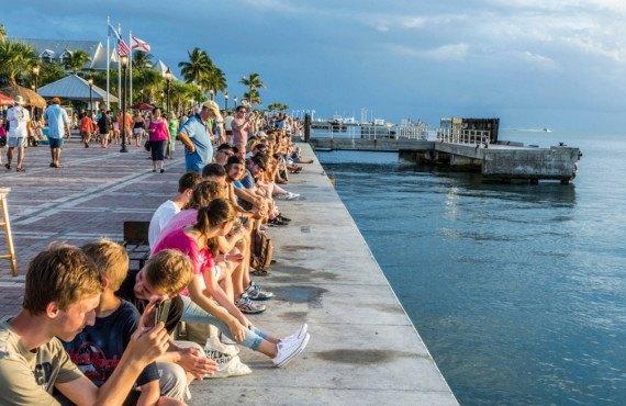 Sunset Celebration Mallory Square Key West