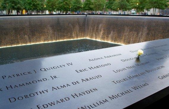 National September 11 Memorial in New York City