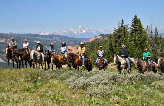 Ranch typique du Wyoming