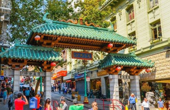 Dragon Gate dans le Chinatown de San Francisco