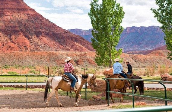 Équitation au ranch Sorrel River