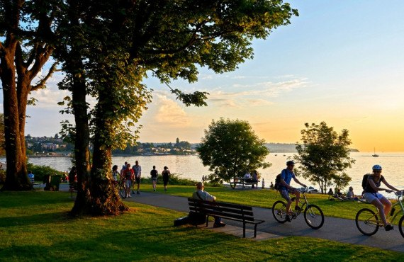 Stanley Park à Vancouver