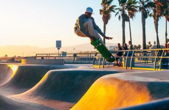 Skatepark populaire de Venice Beach