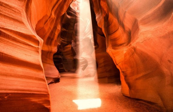 Visite d'Antelope Canyon en avant-midi