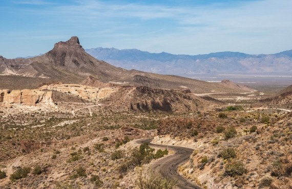 Sitgreaves Pass route 66