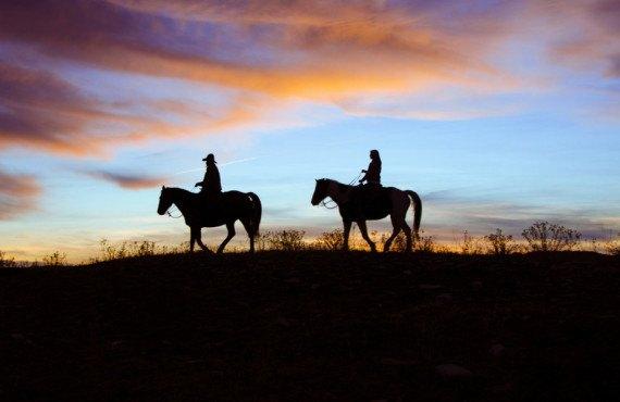Zion Mountain Ranch dans l'Ouest américain
