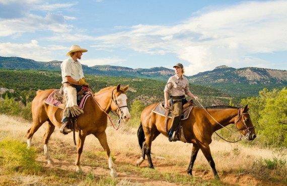 Ranch dans l'Ouest américain à Zion