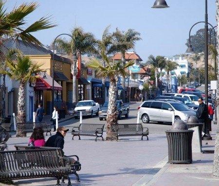 Centre-ville de Pismo Beach