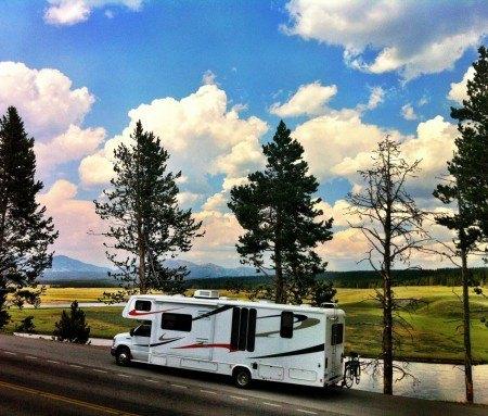 Hayden Valley en camping-car
