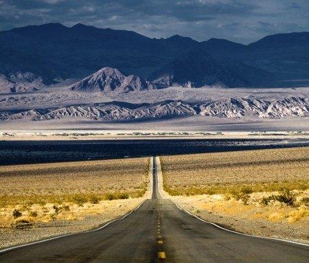 La route panoramique 178, Death Valley