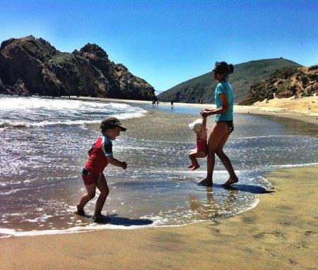 Pfeifer Beach près de Big Sur, Californie