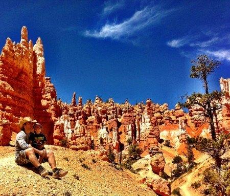 Repos mérité - forêt monolythes de Bryce Canyon