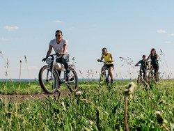 À vélo sur l'île d'Orléans, QC