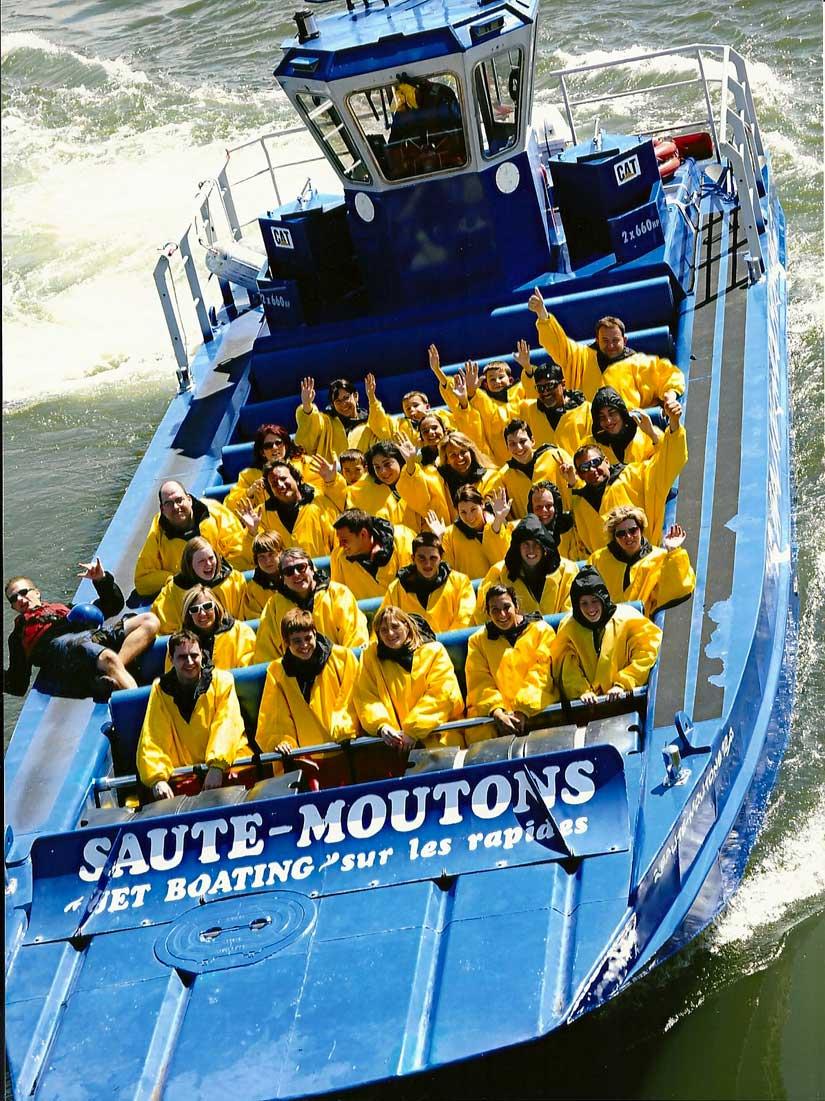 Descente en Rafting - Saute-Moutons