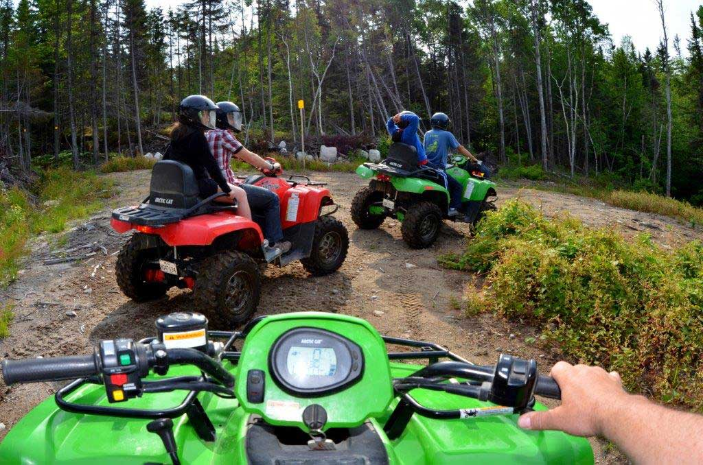 Excursion en Quad - Fjord du Saguenay, Qc