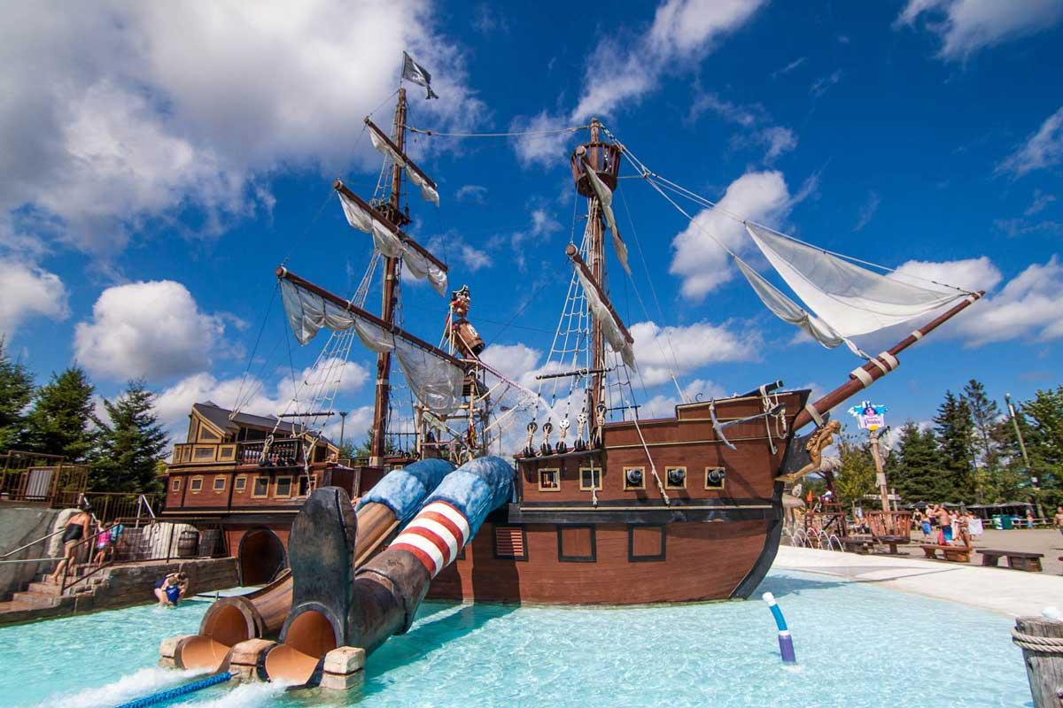 Glissades d'eau - Le Repaire des Pirates