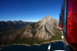 Survol des rocheuses en hélicoptère