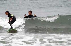 Cours de surf à Manhattan Beach