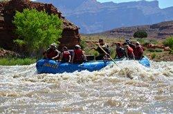 Descente en rafting du fleuve Colorado