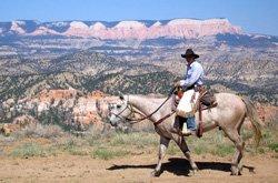 Équitation guidée - Bryce Canyon