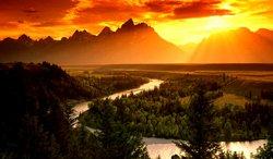 Rafting panoramique - Jackson, Wyoming