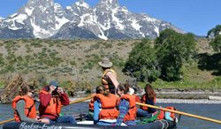 Rafting panoramique - Jackson, Wyoming
