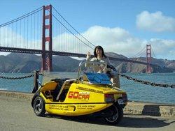Tour de ville de San Francisco en gocar
