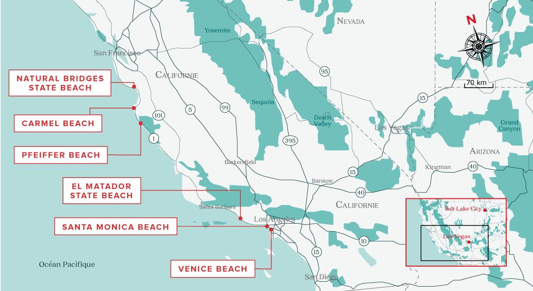 5 plus belles plages de la Californie