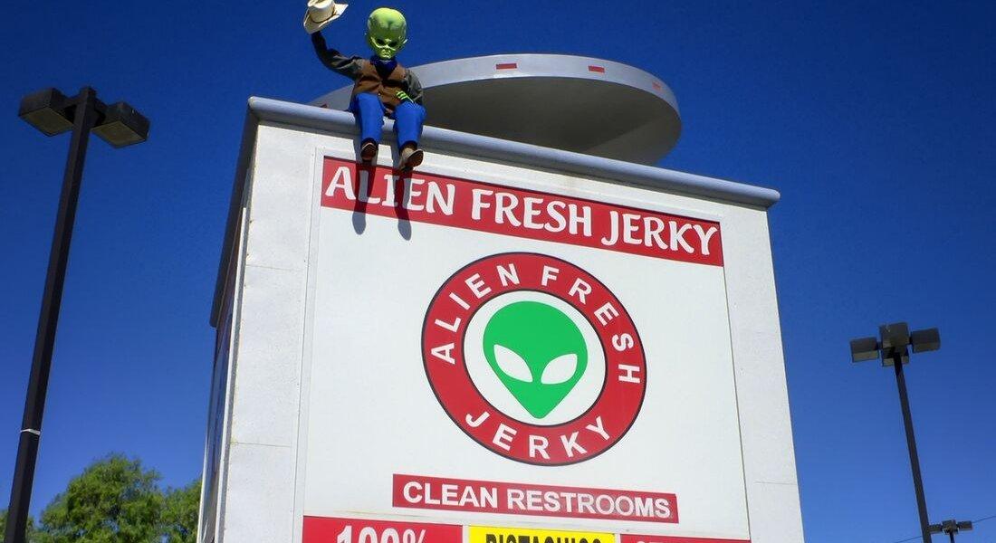 baker californie aliens
