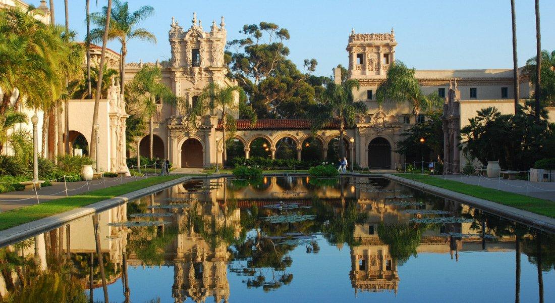 Jardin botanique du Balboa Park