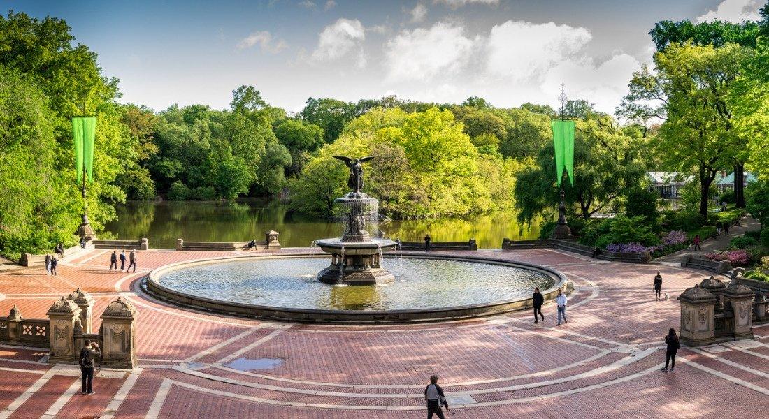 Bathesda Fountain in Central Park