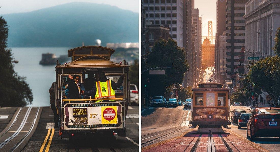 Cable Cars historiques de San Francisco