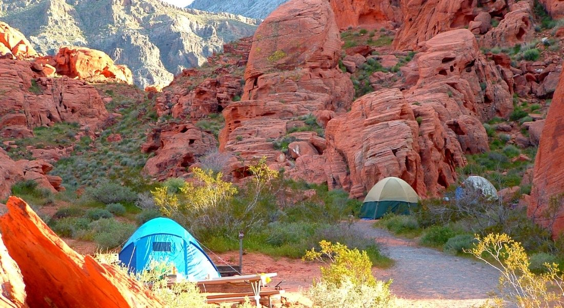 Camping du parc Valley of Fire