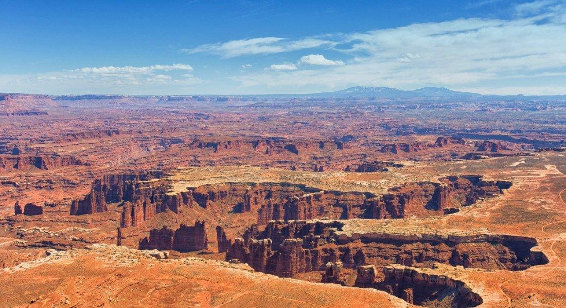 Secteur Island in the Sky canyonlands