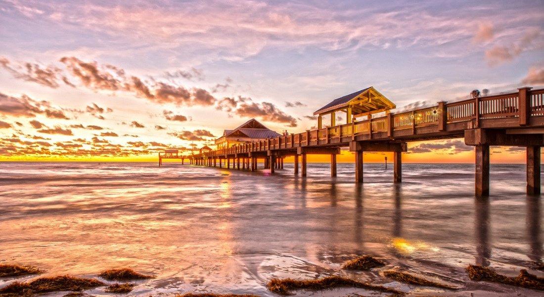 Plus beaux couchers de soleil en Floride