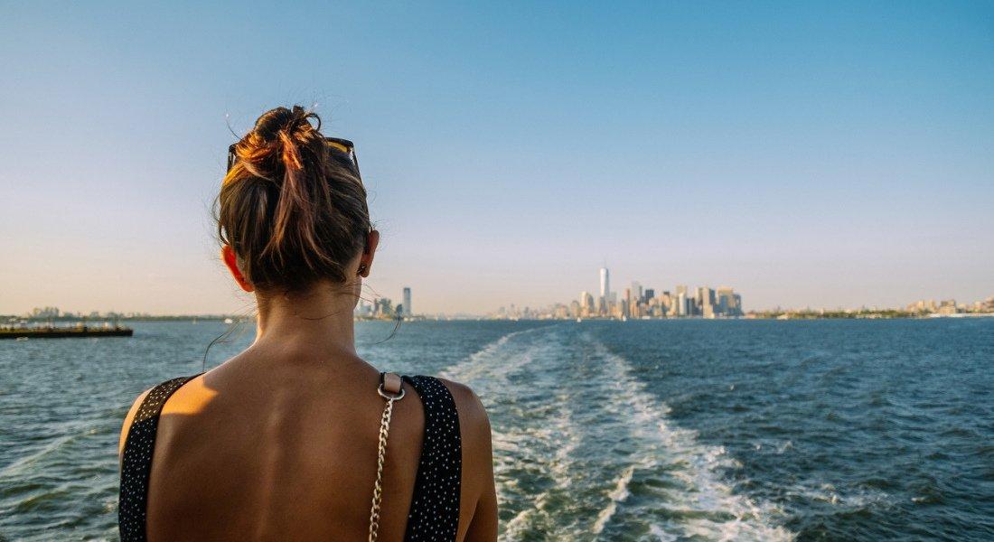 Ferry vers la Statue de la Liberté
