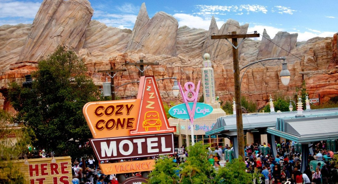 Cars Land à Disney California Adventure Park