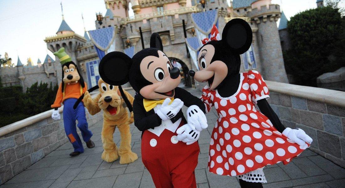 Personnages de Disneyland Anaheim