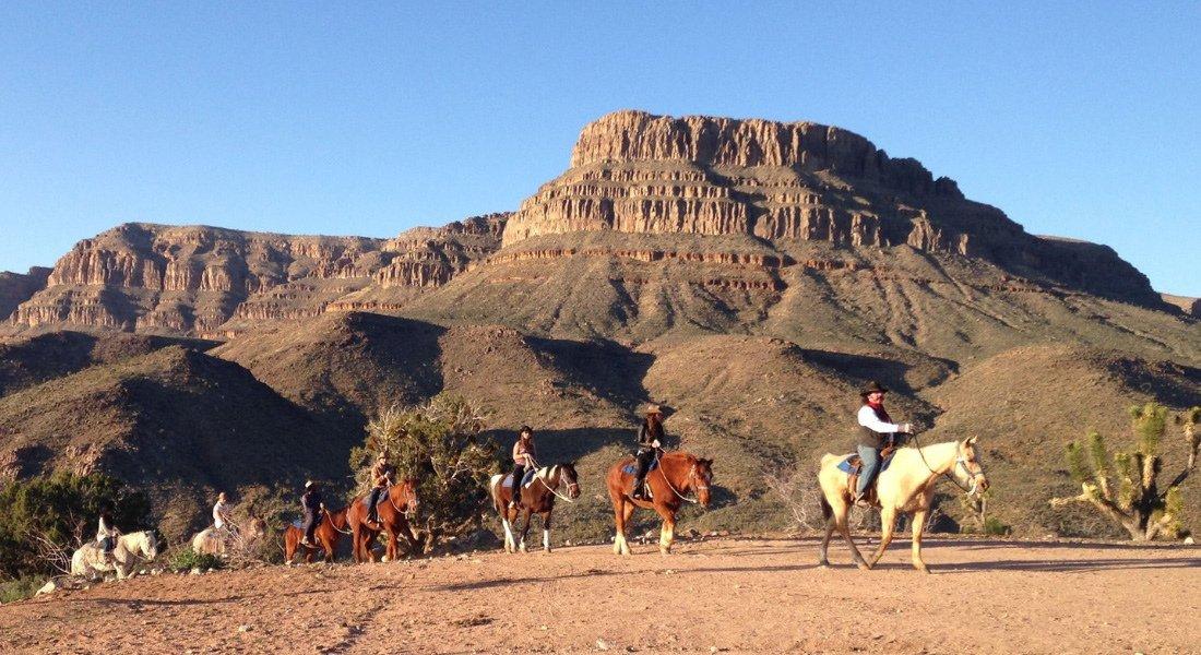Grand Canyon Western Ranch dans l'Ouest américain
