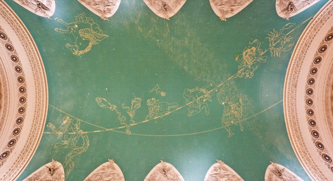 Fresque Constellations Grand Central Terminal