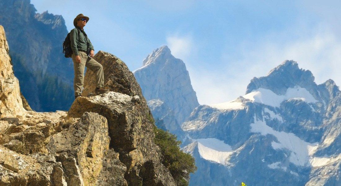 Randonnée dans le parc national de Grand Teton