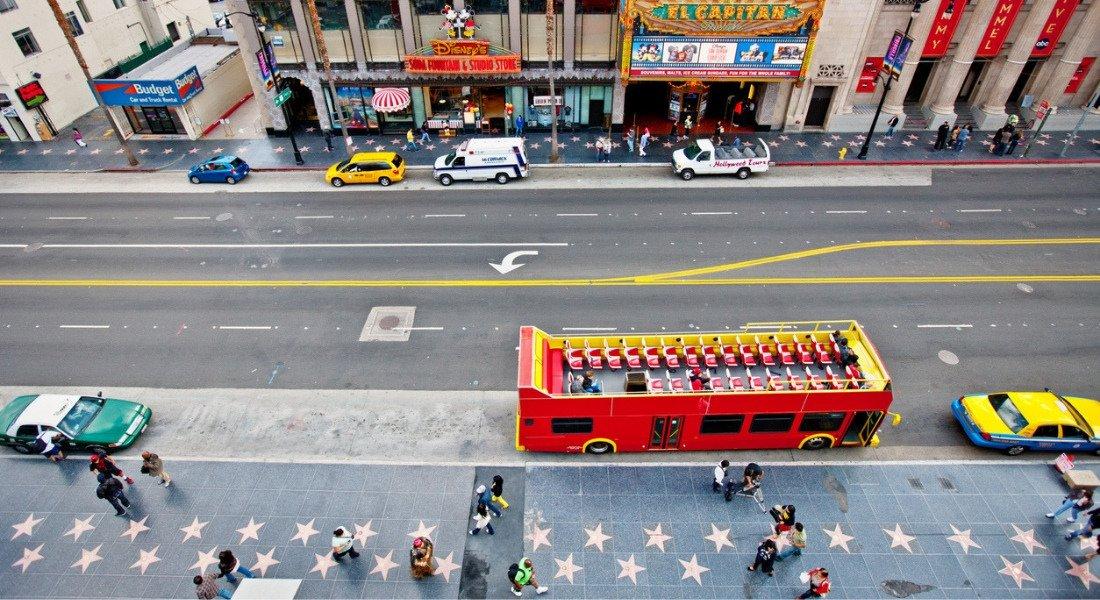Hollywood Boulevard à Los Angeles