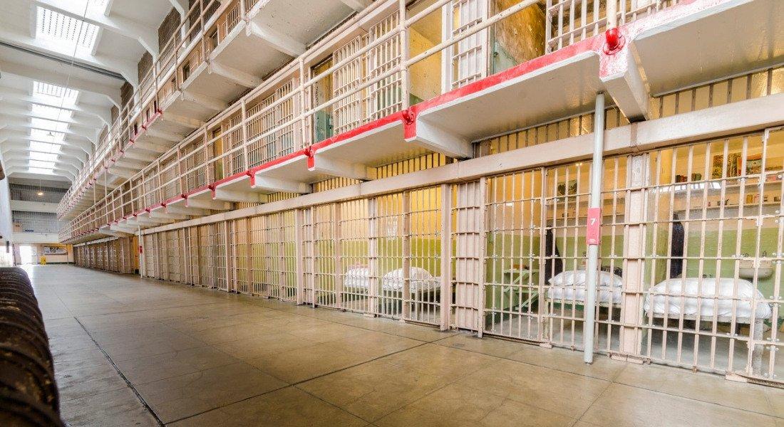 Intérieur de la prison d'Alcatraz