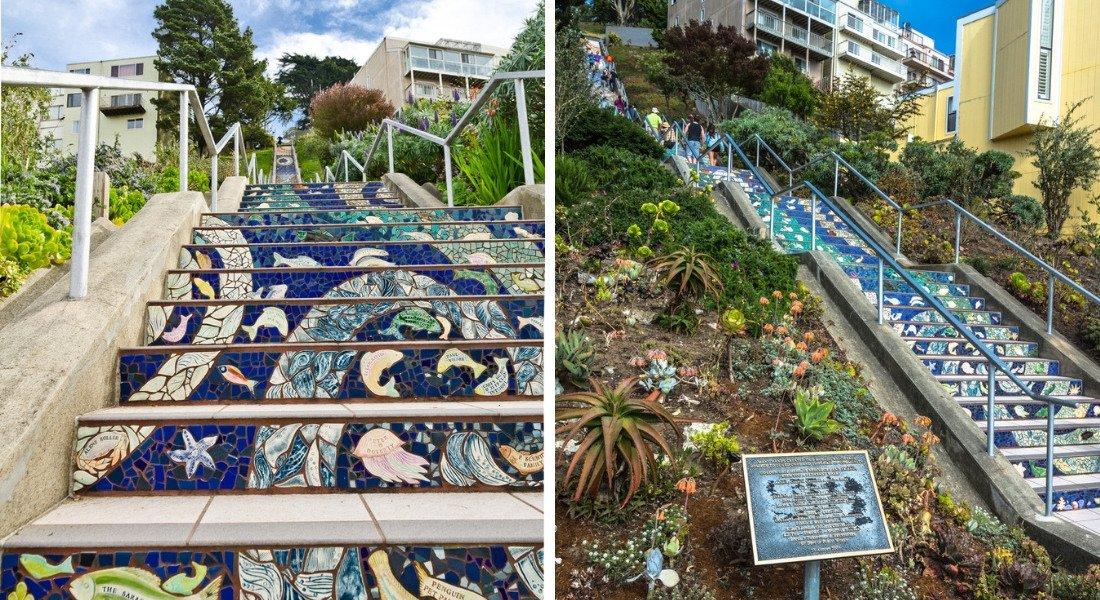 Tiled Steps à San Francisco