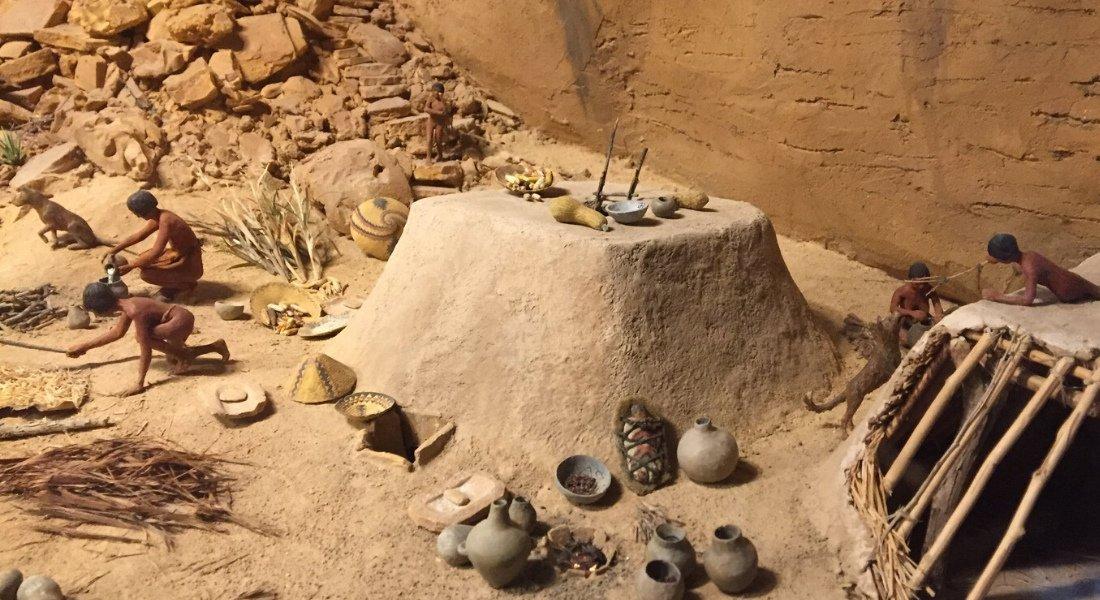 Exposition au musée de Chapin Mesa