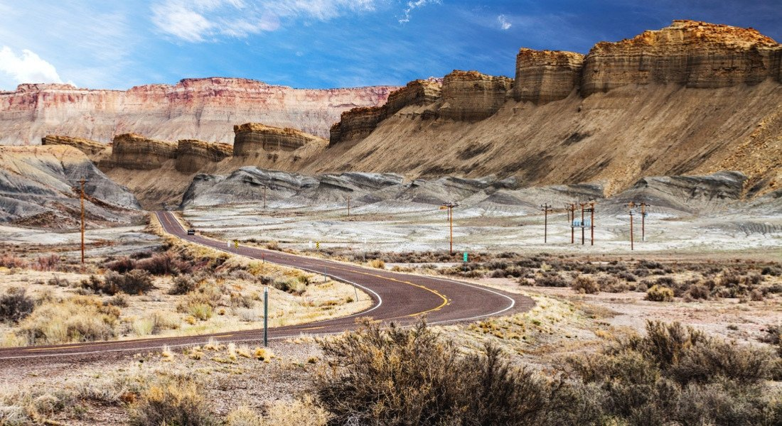 road trip moto National Scenic Byway
