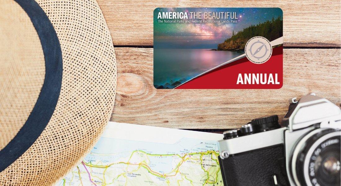 Carte annuelle america the beautiful